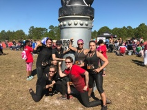 At the end of our Warrior Dash Race